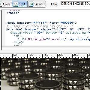 Dreamweaver Class at Design Engine