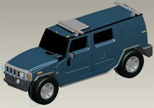Top Down design to develop a hummer