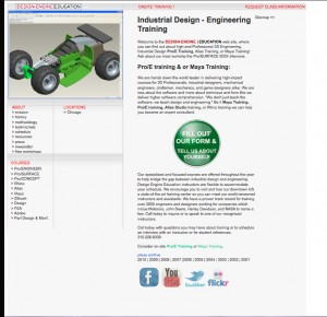 OLD Design Engine School site