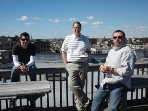 Rooftop Grilling on Design-engine's westloop Chicago studio