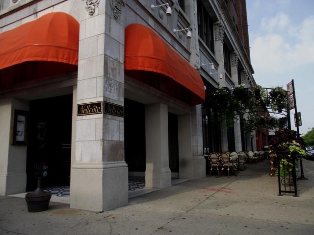 Nellcote Restaurant Downstairs from Design Engine