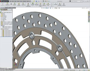SOLIDWORKS Suzuki Rotor Assembly