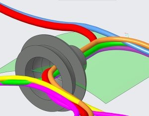 Learning to rout with Creo Cable harness tools