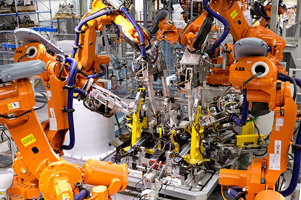 Simultaneous Robotic Spot Welding