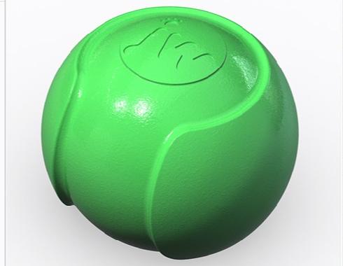 Green JW dogball