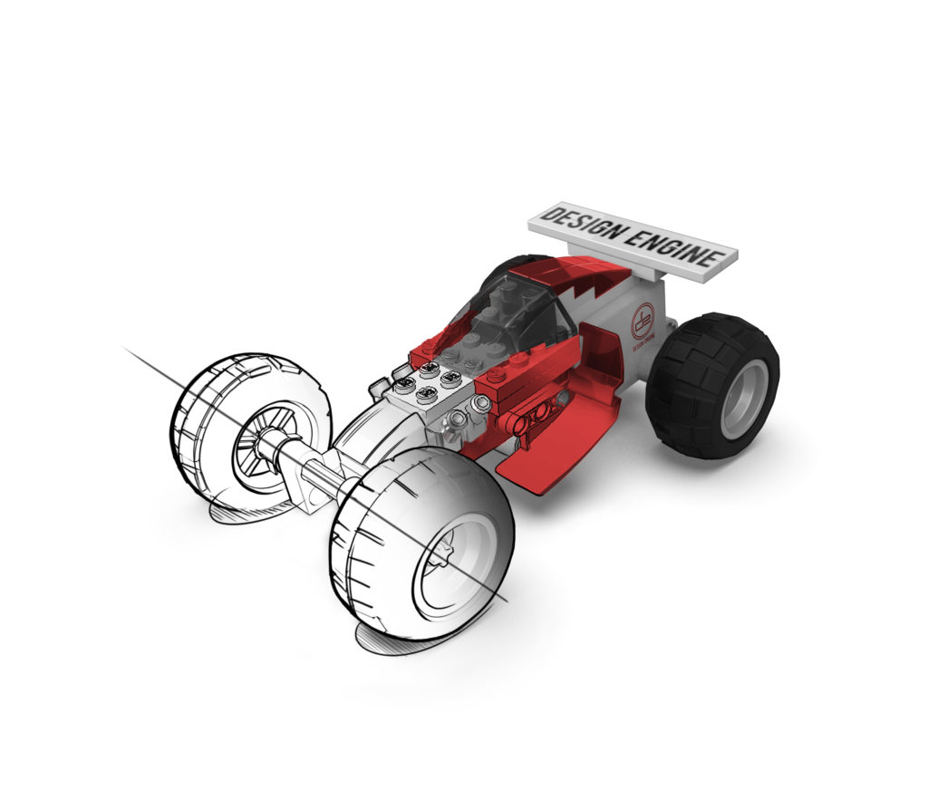 Design Engine Lego Racer